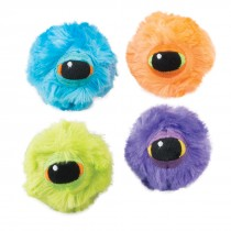 Hairy Eyeball Bouncing Balls