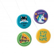 Fun Sayings Yo-Yos