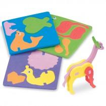 Animal Foam Puzzles