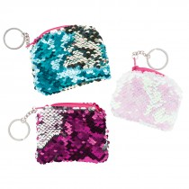 Reversible Sequin Coin Purses