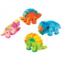 Moveable Dinosaur Erasers