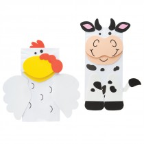 Farm Animal Friend Puppet Craft Kits