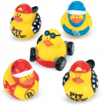 Race Car Rubber Duckies