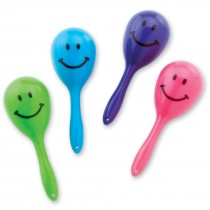 Mini Smiley Maracas
