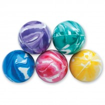 31mm Colorful Swirl Bouncing Balls