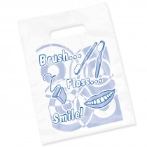 Clear Brush Floss Smile Bags