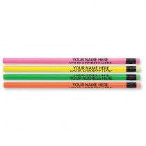 Custom Fluorescent Pencils
