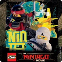 The LEGO Ninjago Movie Stickers