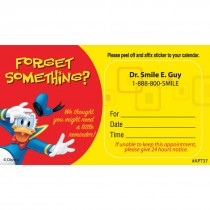 Custom Donald Forget Something? Appointment Cards