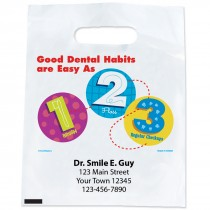 Custom Dental Habits 1-2-3 Bags
