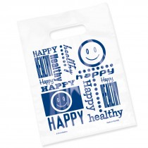 Clear Happy Healthy Smile Bags