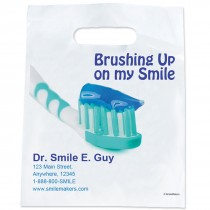Custom Brush Up My Smile Oxobio Full Coloured Bags