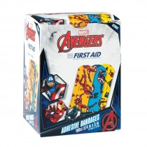 First Aid Captain America, Black Panther & Iron Man Bandages - Case