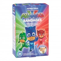 PJ Masks Antibacterial Bandages - Case