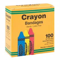 Case Crayon Bandages