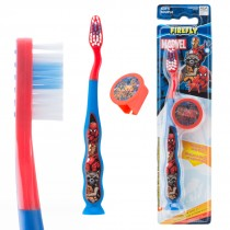 Marvel Heroes Youth Suction Cup Travel Toothbrushes