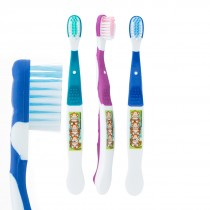 SmileCare Youth Brush Floss Smile Monkey Toothbrushes