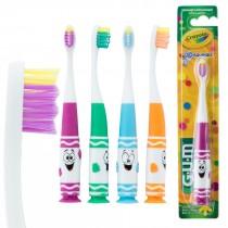 GUM® Crayola™ Pip-Squeaks™ Toddler Toothbrushes