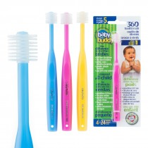 Baby Buddy Step 1 Infant/Toddler 360 Toothbrushes
