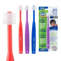Baby Buddy Step 2 Youth 360 Toothbrushes