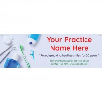 Dental Hygiene Custom Banner