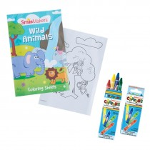 SmileMakers Wild Life Coloring Value Pack