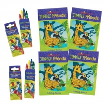 SmileMakers Jungle Friends Coloring Value Pack