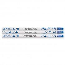 Custom Foil Toothbrush Pencils