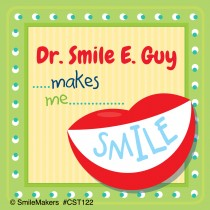 Custom Dental Smile Stickers