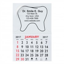 Custom Tooth Shaped Calendars
