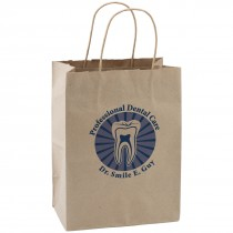 Custom Brown Paper Bags - Medium