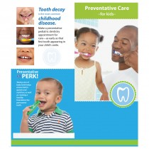 Custom Kids Preventative Dental Care Brochure