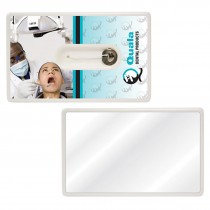 Custom Credit Card Dental Floss with Mirror