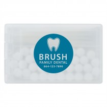 Custom SmileCare Credit Card Mints and Toothpicks