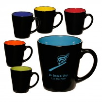 Custom 12 oz Two Tone Mugs