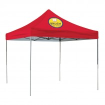 10ft Square Tent, Full Color Imprint - 1 location
