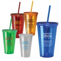 Custom 16oz Acrylic Insulated Tumblers