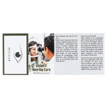 Custom Pocket Pamphlets - Vision & Hearing