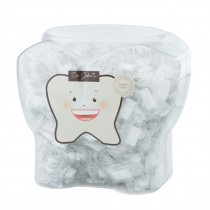Xylitol Gum in Tooth Canister