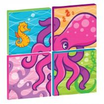 Sea Life Pals Octopus Square Canvas Set