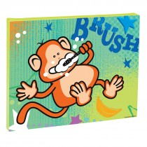 Brush Monkey Canvas Print