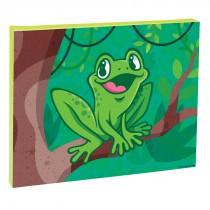 Jungle Friends Frog Canvas Print