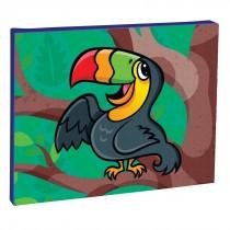 Jungle Friends Toucan Canvas Print