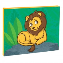 Jungle Friends Lion Canvas Print