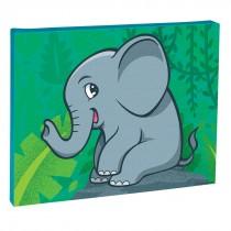 Jungle Friends Elephant Canvas Print
