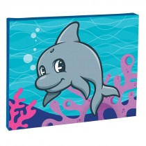 Sea Life Pals Dolphin Canvas Print