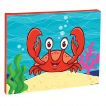Sea Life Pals Crab Canvas Print