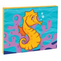 Sea Life Pals Sea Horse Canvas Print