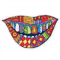 Modern Art Smile Wall Cling