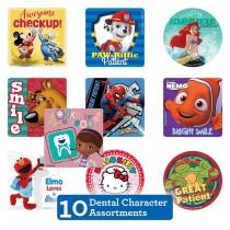 Dental Character Sticker Sampler